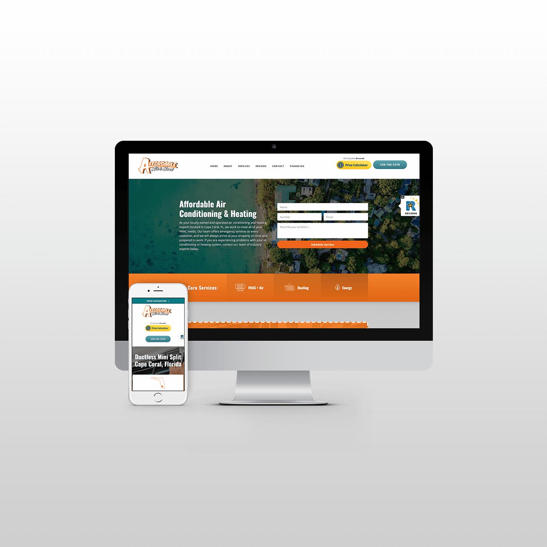 Affordable Air Website Design itsjtaM