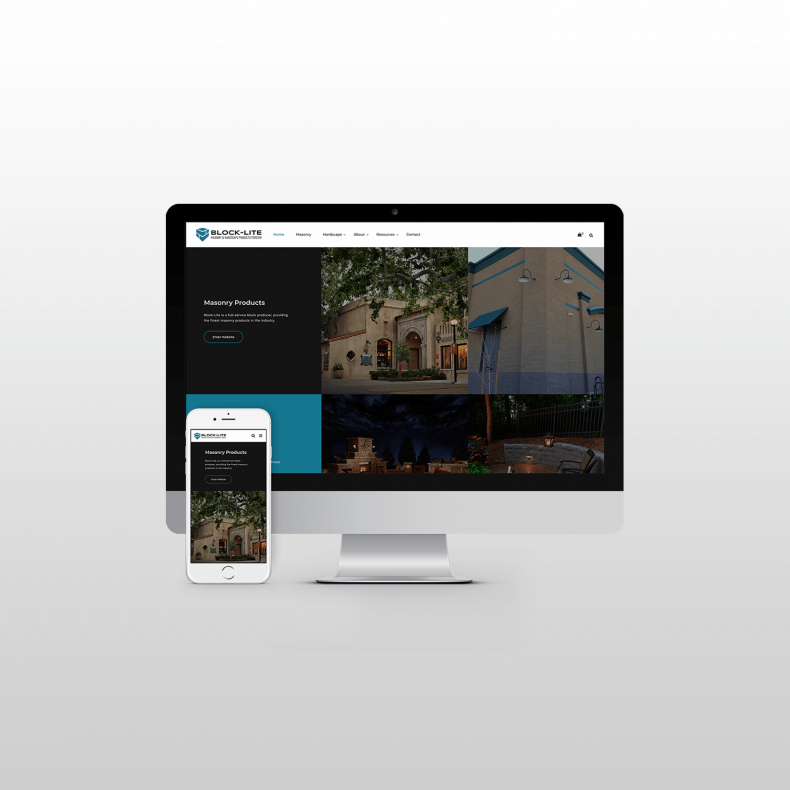 Block-Lite Website Design itsjtaM
