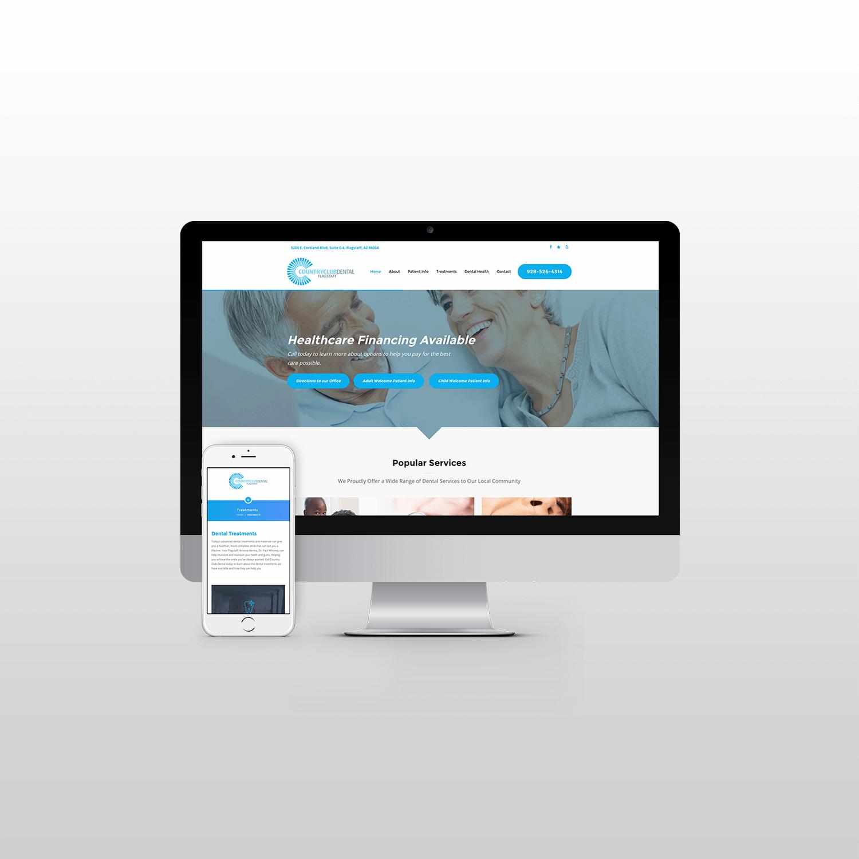 Country Club Dental Flagstaff Website Design itsjtaM