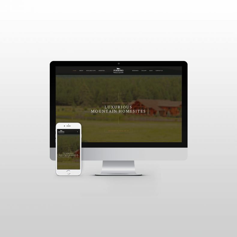 Foxboro Ranch Estates Website Design itsjtaM