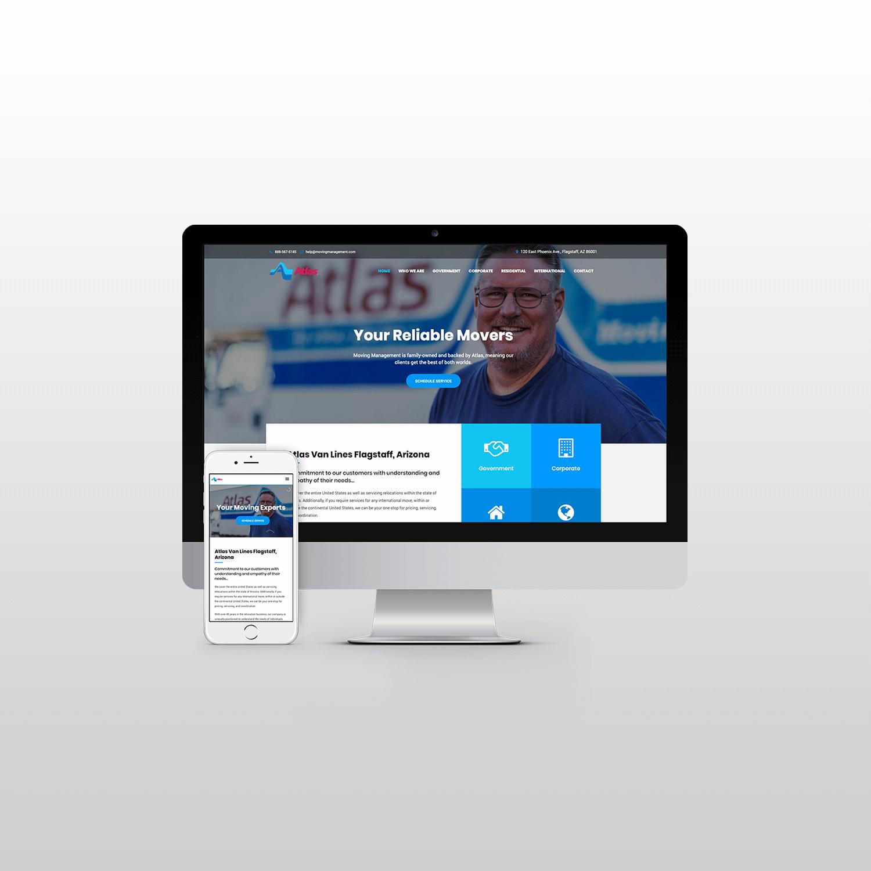 Moving Management Website Design itsjtaM