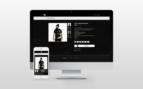 Optic Gaming Website Design itsjtaM